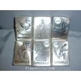 GODZILLA 6 Pcs Limited Light [Only Show] ZIPPO