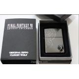 Final Fantasy FFVII FF7 limited edition ZIPPO B Cloudy Wolf ◆ Advent Children