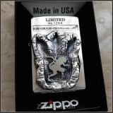 GODZILA footprints 60th anniversary ZIPPO
