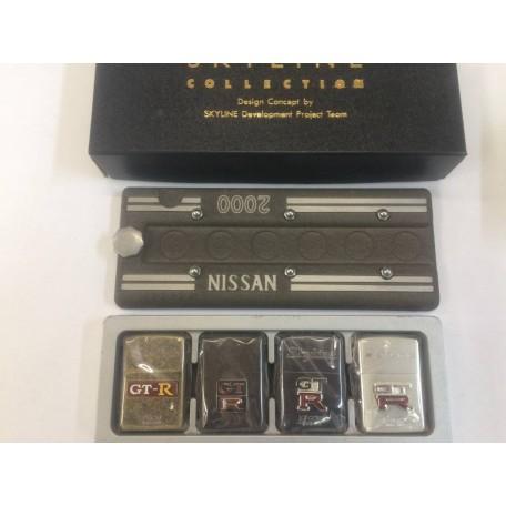 SKYLINE GT-R GTR ② 4  sets S20 NISSAN ZIPPO Limited Edition