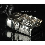 Armor Skull  LIMITED EDITION ZIPPO Oil Lighter 6 surface engraving