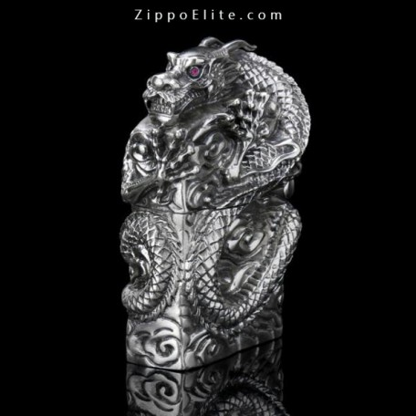 Armor Dragon ZIPPO Lighter Limited  Six-carved