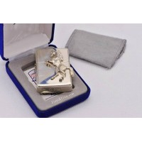 STERLING SILVER HORSE ZIPPO