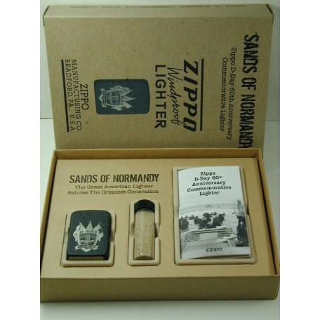 C04  MINT NEW Zippo D-Day 60th Anniversary Commemorative Set C2004