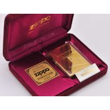 ZIPPO lighter limited edition gold-plated Windy girl